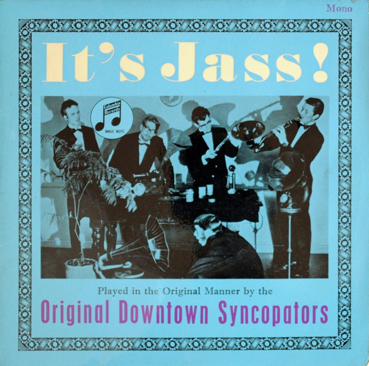 It's Jass!  The Original Downtown Syncopators album cover