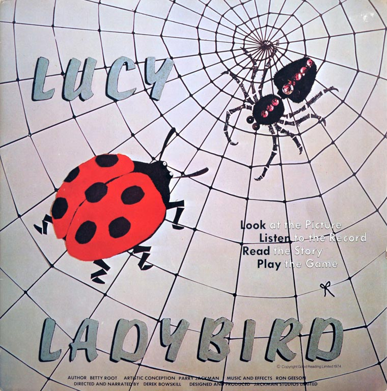 Lucy Ladybird album cover