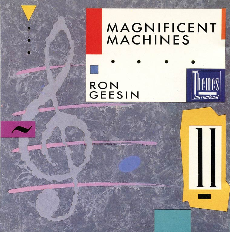 Magnificent Machines album cover
