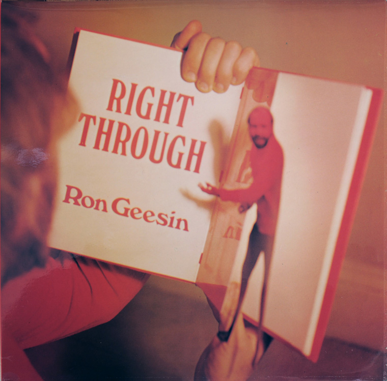Right Through album cover